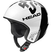 Casca ski pentru Unisex Head STIVOT RACE Carbon Rebels, White/black